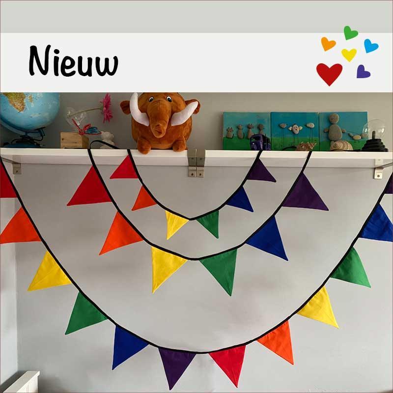 hp vlaggenlijn regenboog